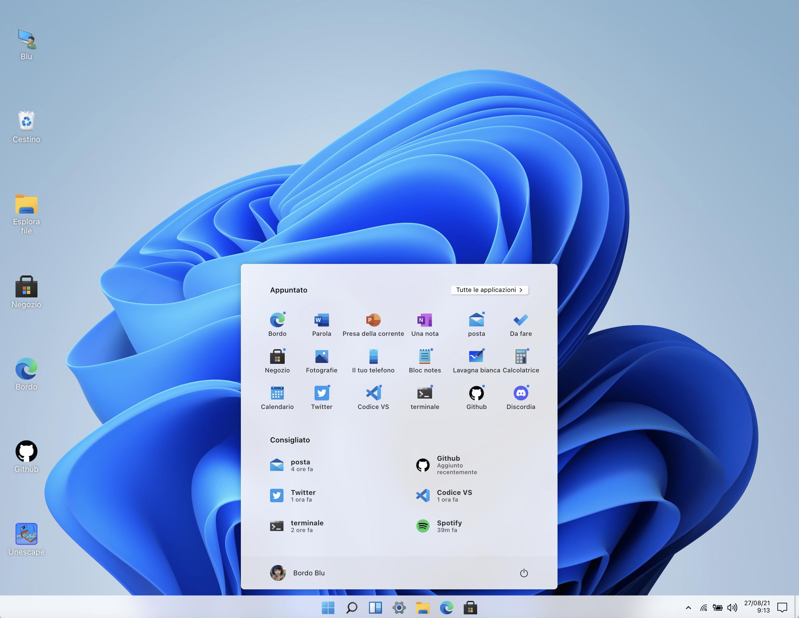 Windows 11 senza installazione