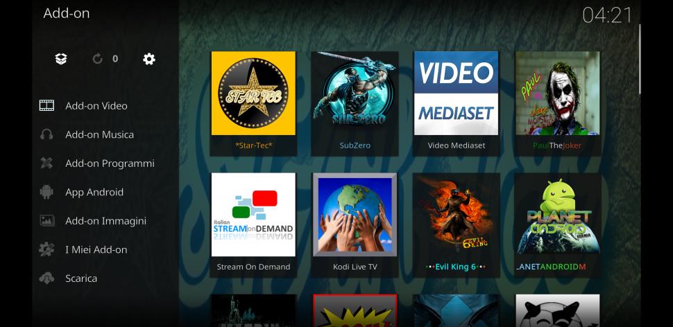 Star Tec - add-on di kodi tutto in uno ( new Repo