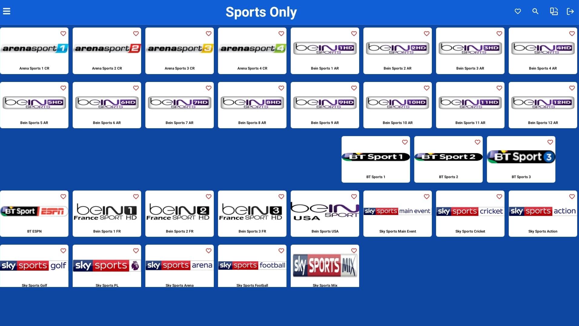 SPORTS TV 4.0