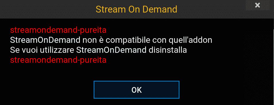 Stream on demand si aggiorna