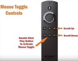 Telecomando Fire TV Stick in mouse