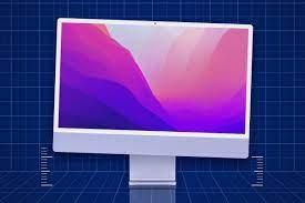 iMac M1 inclinato