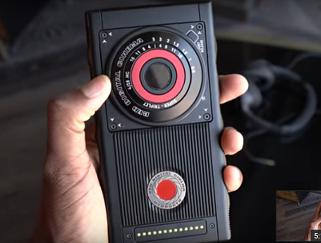 prototipi di Red Hydrogen One